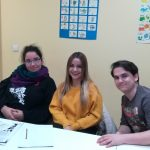 Rocío, Raquel i Erik
